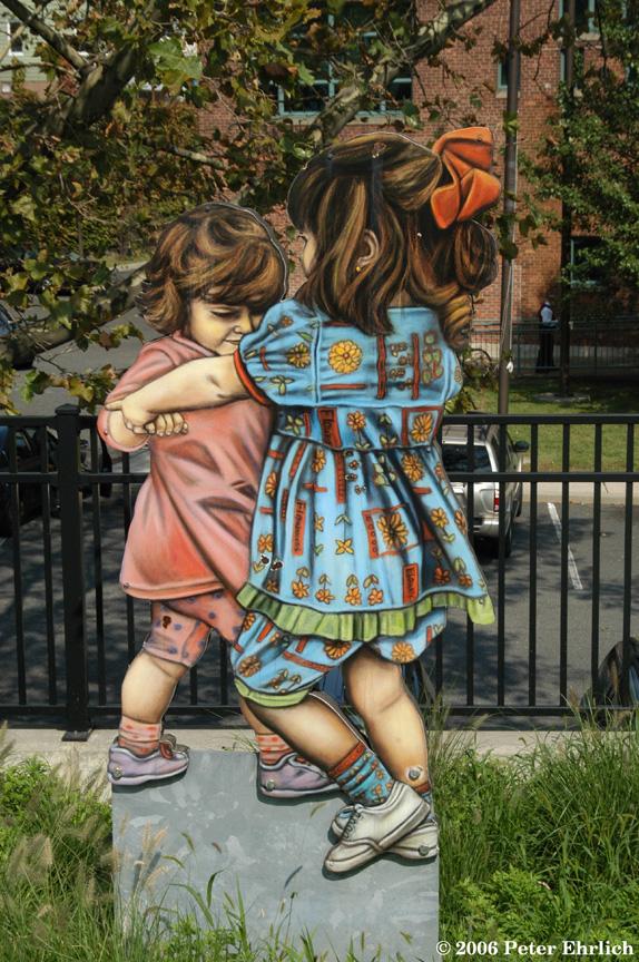 (297k, 574x864)<br><b>Country:</b> United States<br><b>City:</b> Jersey City, NJ<br><b>System:</b> Hudson Bergen Light Rail<br><b>Location:</b> Garfield Avenue <br><b>Photo by:</b> Peter Ehrlich<br><b>Date:</b> 9/28/2006<br><b>Notes:</b> Artwork.<br><b>Viewed (this week/total):</b> 0 / 1440