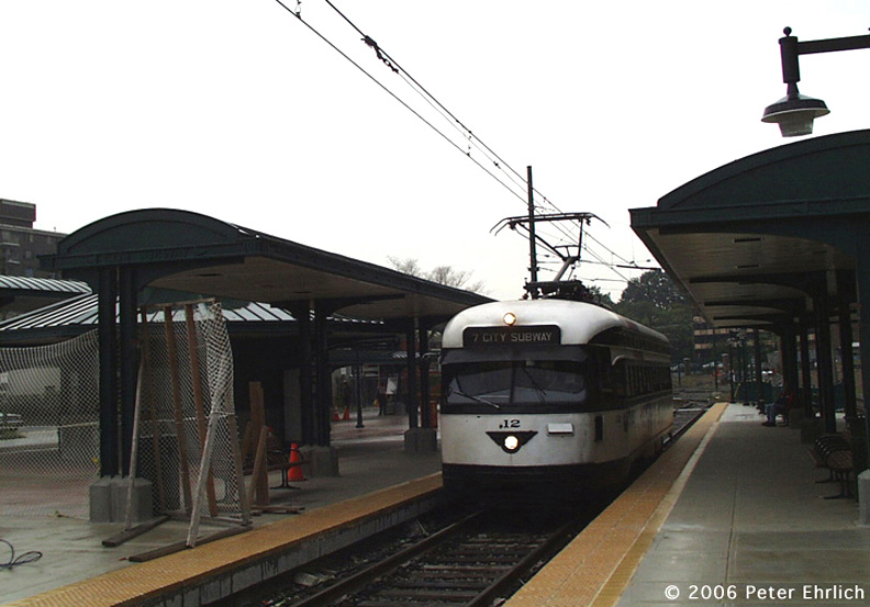 (133k, 792x553)<br><b>Country:</b> United States<br><b>City:</b> Newark, NJ<br><b>System:</b> Newark City Subway<br><b>Location:</b> Branch Brook Park <br><b>Car:</b> NJTransit/PSCT PCC (Ex-Twin City) (St. Louis Car Co., 1946-1947) 12 <br><b>Photo by:</b> Peter Ehrlich<br><b>Date:</b> 8/20/2001<br><b>Viewed (this week/total):</b> 1 / 1235