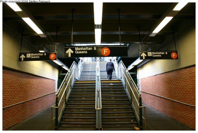 (103k, 820x554)<br><b>Country:</b> United States<br><b>City:</b> New York<br><b>System:</b> New York City Transit<br><b>Location:</b> Coney Island/Stillwell Avenue<br><b>Photo by:</b> Steffen Petrasch<br><b>Date:</b> 9/24/2006<br><b>Notes:</b> Station interior-stairs up to F platform.<br><b>Viewed (this week/total):</b> 0 / 2289