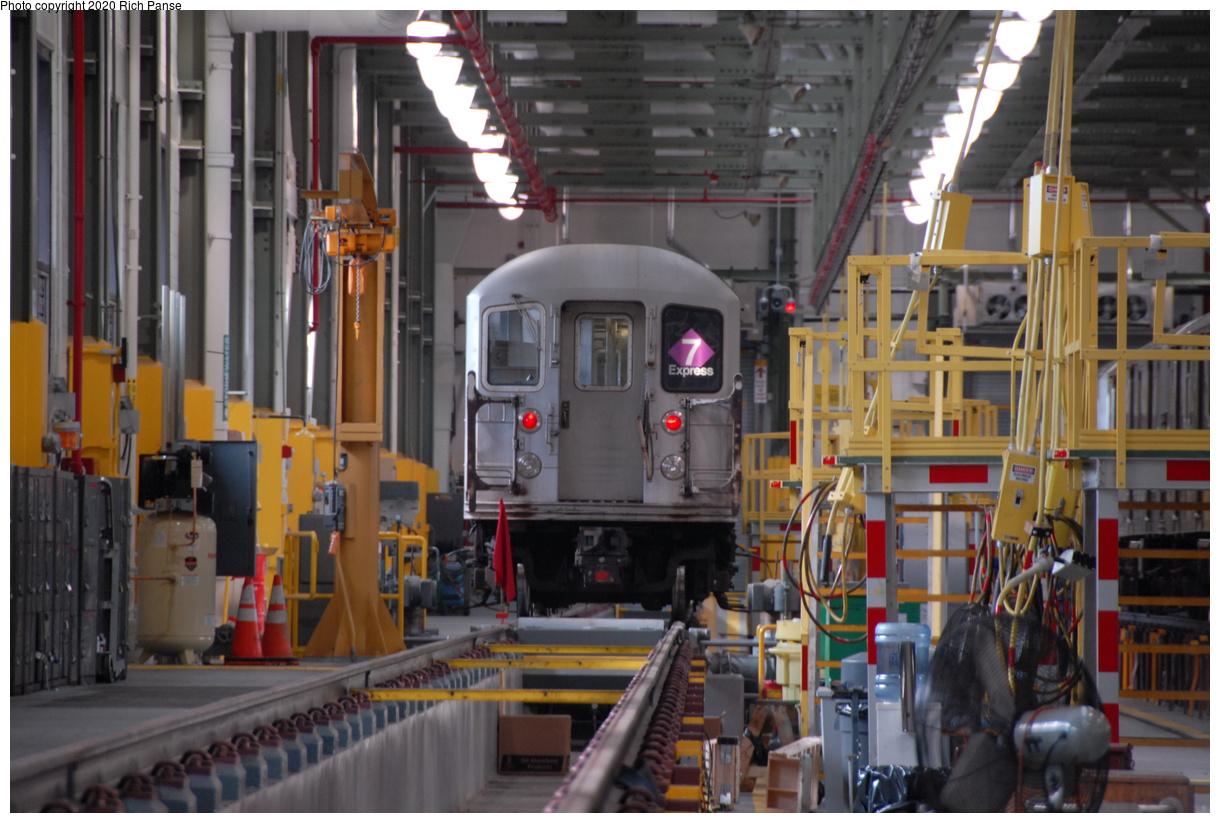 (196k, 1044x705)<br><b>Country:</b> United States<br><b>City:</b> New York<br><b>System:</b> New York City Transit<br><b>Location:</b> Corona Shops<br><b>Car:</b> R-62A (Bombardier, 1984-1987)   <br><b>Photo by:</b> Richard Panse<br><b>Date:</b> 10/22/2006<br><b>Viewed (this week/total):</b> 1 / 3391