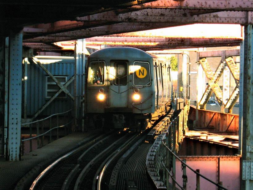(133k, 820x615)<br><b>Country:</b> United States<br><b>City:</b> New York<br><b>System:</b> New York City Transit<br><b>Line:</b> BMT Astoria Line<br><b>Location:</b> Queensborough Plaza <br><b>Route:</b> N<br><b>Car:</b> R-68A (Kawasaki, 1988-1989)  5024 <br><b>Photo by:</b> Gary Chatterton<br><b>Date:</b> 10/14/2006<br><b>Viewed (this week/total):</b> 1 / 3250