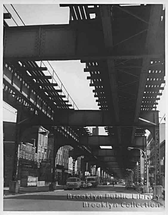 (51k, 563x720)<br><b>Country:</b> United States<br><b>City:</b> New York<br><b>System:</b> New York City Transit<br><b>Line:</b> BMT Myrtle Avenue Line<br><b>Location:</b> Franklin Avenue <br><b>Collection of:</b> Brooklyn Public Library (via Herbert Maruska)<br><b>Date:</b> 1969<br><b>Viewed (this week/total):</b> 8 / 3786