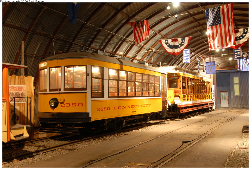(240k, 1044x705)<br><b>Country:</b> United States<br><b>City:</b> East Haven/Branford, Ct.<br><b>System:</b> Shore Line Trolley Museum <br><b>Car:</b> Connecticut Company 2350 <br><b>Photo by:</b> Richard Panse<br><b>Date:</b> 11/4/2006<br><b>Viewed (this week/total):</b> 0 / 1137