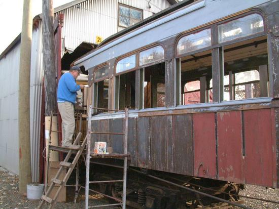 (53k, 550x413)<br><b>Country:</b> United States<br><b>City:</b> East Haven/Branford, Ct.<br><b>System:</b> Shore Line Trolley Museum <br><b>Car:</b> Kings County Elevated 197 <br><b>Photo by:</b> Vic Gordon<br><b>Date:</b> 5/2006<br><b>Viewed (this week/total):</b> 0 / 941