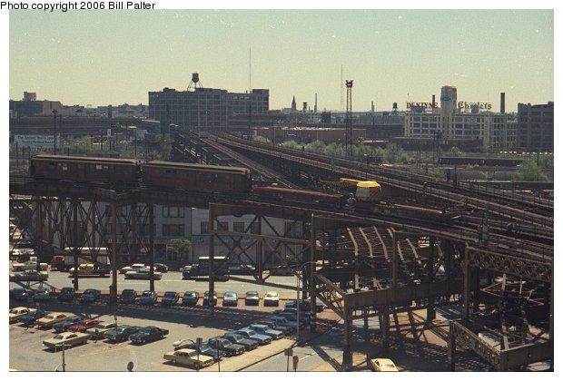 (65k, 620x420)<br><b>Country:</b> United States<br><b>City:</b> New York<br><b>System:</b> New York City Transit<br><b>Line:</b> BMT Astoria Line<br><b>Location:</b> Queensborough Plaza <br><b>Route:</b> Work Service<br><b>Car:</b> Low-V  <br><b>Photo by:</b> Bill Palter<br><b>Viewed (this week/total):</b> 4 / 2601