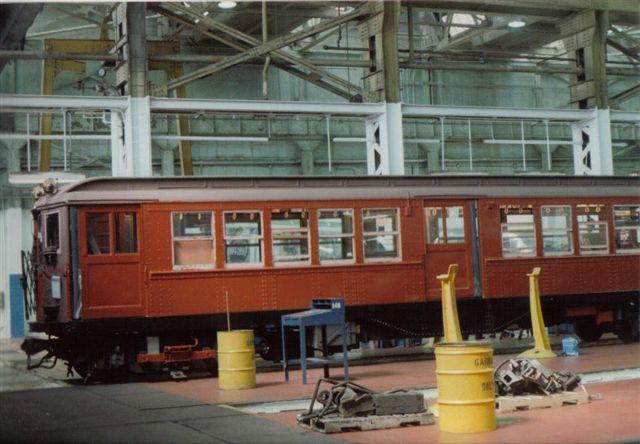 (54k, 640x444)<br><b>Country:</b> United States<br><b>City:</b> New York<br><b>System:</b> New York City Transit<br><b>Location:</b> 207th Street Shop<br><b>Car:</b> Low-V 5466 <br><b>Collection of:</b> Vic Gordon<br><b>Notes:</b> Just prior to move to Shore Line.<br><b>Viewed (this week/total):</b> 3 / 1437