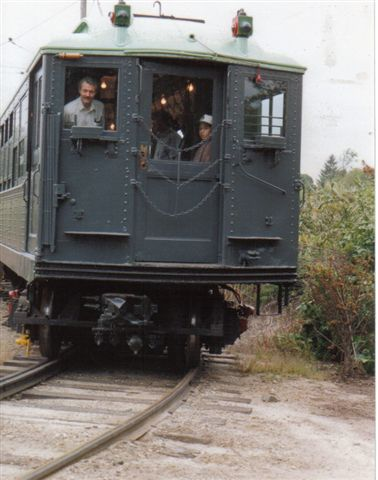 (34k, 378x480)<br><b>Country:</b> United States<br><b>City:</b> East Haven/Branford, Ct.<br><b>System:</b> Shore Line Trolley Museum <br><b>Car:</b> Low-V 5466 <br><b>Collection of:</b> Vic Gordon<br><b>Notes:</b> On loop at Shore Line.<br><b>Viewed (this week/total):</b> 0 / 1195