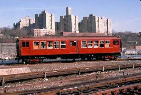 (36k, 480x323)<br><b>Country:</b> United States<br><b>City:</b> New York<br><b>System:</b> New York City Transit<br><b>Location:</b> 207th Street Yard<br><b>Car:</b> Low-V 5466 <br><b>Collection of:</b> Vic Gordon<br><b>Notes:</b> The day of the move to Shore Line.<br><b>Viewed (this week/total):</b> 0 / 1982