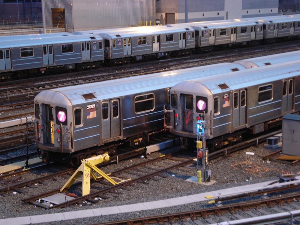 (147k, 1037x778)<br><b>Country:</b> United States<br><b>City:</b> New York<br><b>System:</b> New York City Transit<br><b>Location:</b> Corona Yard<br><b>Car:</b> R-62A (Bombardier, 1984-1987)  2099/1975 <br><b>Photo by:</b> Michael Hodurski<br><b>Date:</b> 12/29/2006<br><b>Viewed (this week/total):</b> 2 / 2127
