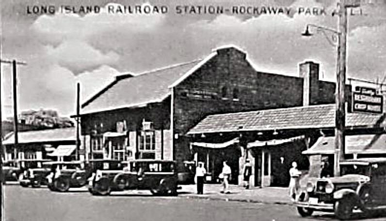 (84k, 796x456)<br><b>Country:</b> United States<br><b>City:</b> New York<br><b>System:</b> Long Island Rail Road<br><b>Line:</b> LIRR Rockaway<br><b>Location:</b> Rockaway Park <br><b>Collection of:</b> Herbert P. Maruska<br><b>Date:</b> 1937<br><b>Notes:</b> Postcard view.<br><b>Viewed (this week/total):</b> 3 / 2288