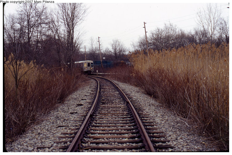 (147k, 812x545)<br><b>Country:</b> United States<br><b>City:</b> New York<br><b>System:</b> New York City Transit<br><b>Line:</b> SIRT<br><b>Location:</b> Richmond Valley <br><b>Photo by:</b> Marc Pitanza<br><b>Date:</b> 1/28/2007<br><b>Notes:</b> Richmond Valley spur from SIRT. Shows Tottenville-bound train in distance.<br><b>Viewed (this week/total):</b> 3 / 4585