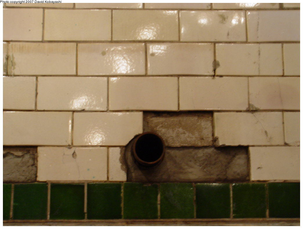 (100k, 1044x788)<br><b>Country:</b> United States<br><b>City:</b> New York<br><b>System:</b> New York City Transit<br><b>Line:</b> IRT East Side Line<br><b>Location:</b> City Hall <br><b>Photo by:</b> David Kobayashi<br><b>Date:</b> 2/4/2007<br><b>Notes:</b> Transit Museum tour.<br><b>Viewed (this week/total):</b> 4 / 5481