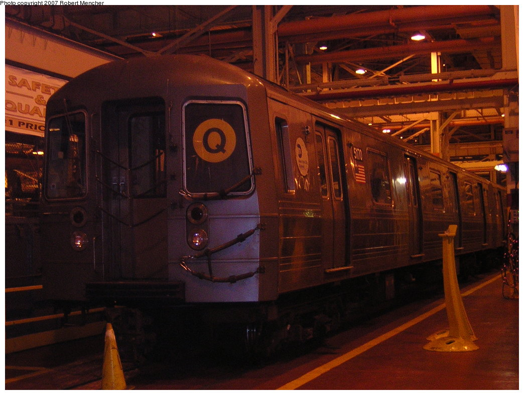 (201k, 1044x788)<br><b>Country:</b> United States<br><b>City:</b> New York<br><b>System:</b> New York City Transit<br><b>Location:</b> Coney Island Shop/Overhaul & Repair Shop<br><b>Car:</b> R-68A (Kawasaki, 1988-1989)  5070 <br><b>Photo by:</b> Robert Mencher<br><b>Date:</b> 2/9/2007<br><b>Viewed (this week/total):</b> 0 / 1379