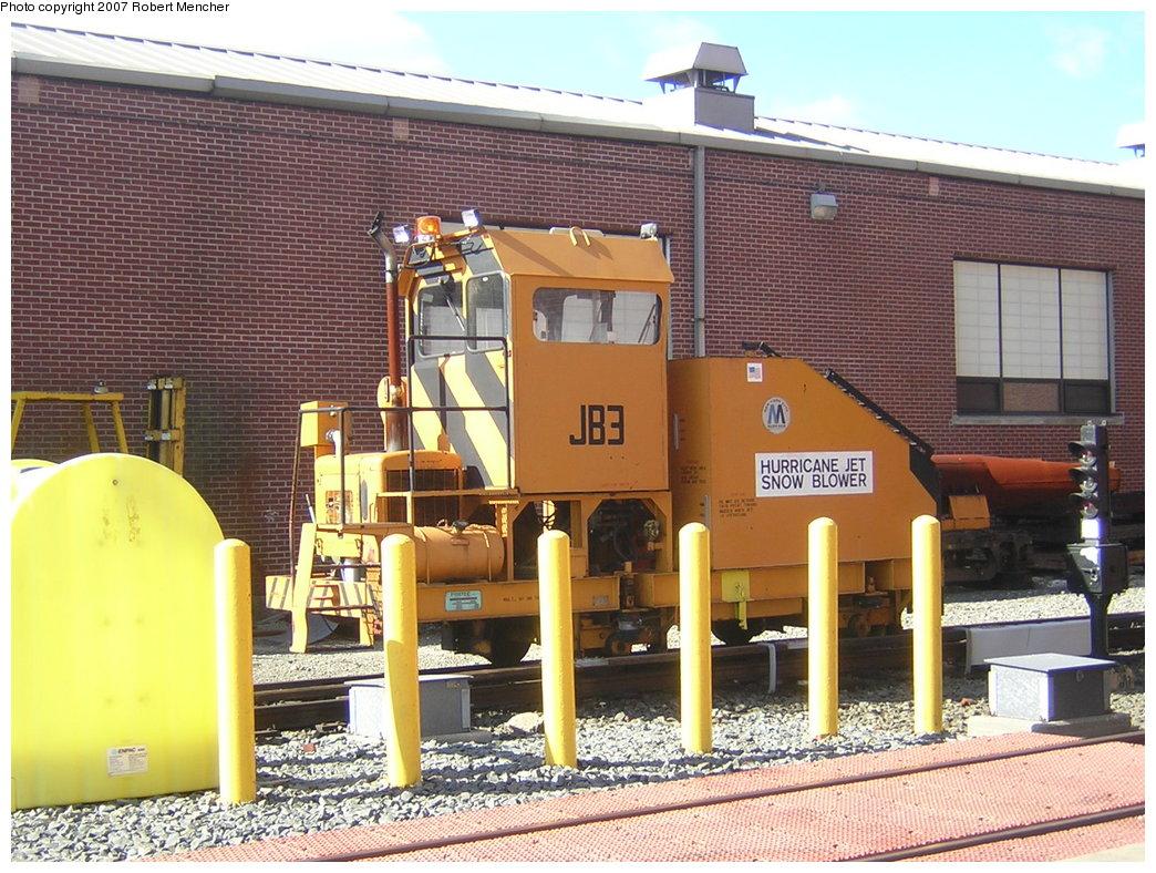 (259k, 1044x788)<br><b>Country:</b> United States<br><b>City:</b> New York<br><b>System:</b> New York City Transit<br><b>Location:</b> Coney Island Yard<br><b>Car:</b> Snowblower JB3 <br><b>Photo by:</b> Robert Mencher<br><b>Date:</b> 2/9/2007<br><b>Viewed (this week/total):</b> 2 / 1318