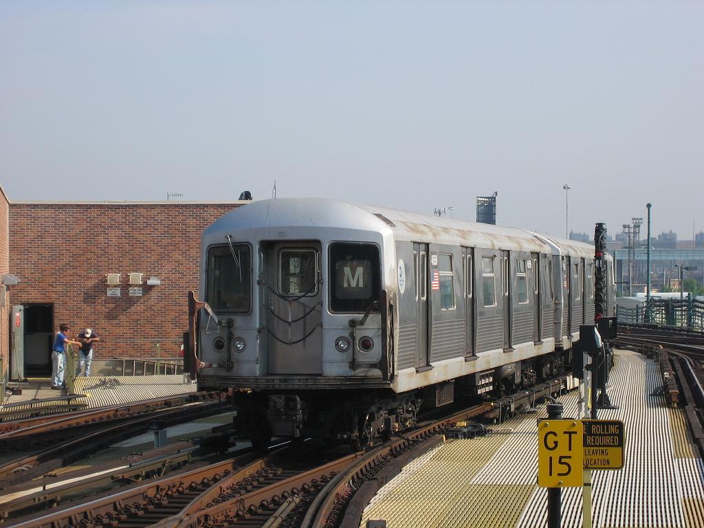 (127k, 1024x768)<br><b>Country:</b> United States<br><b>City:</b> New York<br><b>System:</b> New York City Transit<br><b>Location:</b> Coney Island/Stillwell Avenue<br><b>Route:</b> M<br><b>Car:</b> R-42 (St. Louis, 1969-1970)  4659 <br><b>Photo by:</b> Michael Hodurski<br><b>Date:</b> 7/31/2006<br><b>Viewed (this week/total):</b> 2 / 2597