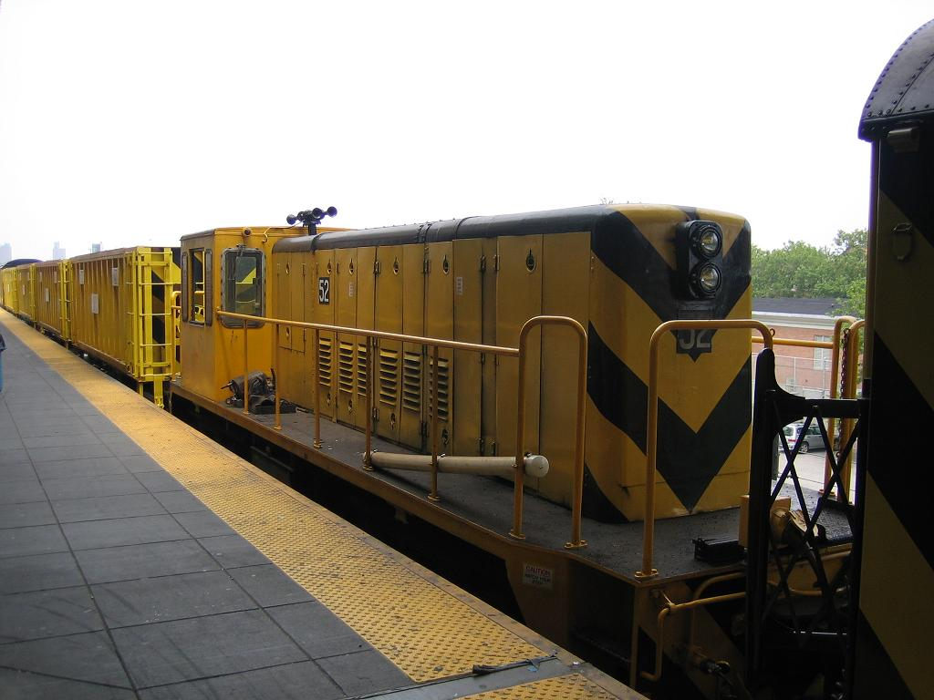 (96k, 1024x768)<br><b>Country:</b> United States<br><b>City:</b> New York<br><b>System:</b> New York City Transit<br><b>Location:</b> Coney Island/Stillwell Avenue<br><b>Route:</b> Work Service<br><b>Car:</b> R-37 Locomotive  52 <br><b>Photo by:</b> Michael Hodurski<br><b>Date:</b> 7/12/2006<br><b>Viewed (this week/total):</b> 1 / 2028