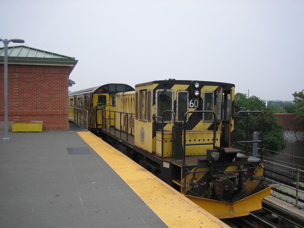 (102k, 1024x768)<br><b>Country:</b> United States<br><b>City:</b> New York<br><b>System:</b> New York City Transit<br><b>Location:</b> Coney Island/Stillwell Avenue<br><b>Route:</b> Work Service<br><b>Car:</b> R-43 Locomotive  60 <br><b>Photo by:</b> Michael Hodurski<br><b>Date:</b> 7/12/2006<br><b>Viewed (this week/total):</b> 0 / 2046