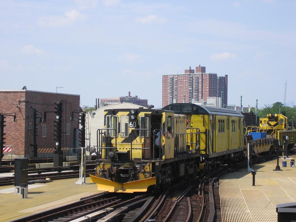 (130k, 1024x768)<br><b>Country:</b> United States<br><b>City:</b> New York<br><b>System:</b> New York City Transit<br><b>Location:</b> Coney Island/Stillwell Avenue<br><b>Route:</b> Work Service<br><b>Car:</b> R-43 Locomotive  60 <br><b>Photo by:</b> Michael Hodurski<br><b>Date:</b> 7/29/2006<br><b>Viewed (this week/total):</b> 2 / 2101