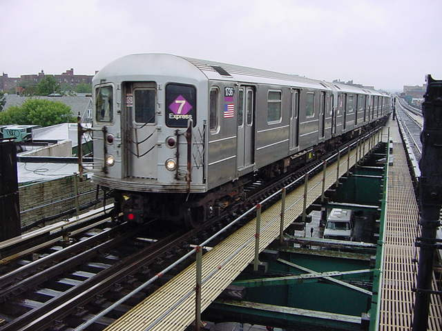 (60k, 640x480)<br><b>Country:</b> United States<br><b>City:</b> New York<br><b>System:</b> New York City Transit<br><b>Line:</b> IRT Flushing Line<br><b>Location:</b> 61st Street/Woodside <br><b>Car:</b> R-62A (Bombardier, 1984-1987)  1736 <br><b>Photo by:</b> Salaam Allah<br><b>Date:</b> 9/26/2002<br><b>Viewed (this week/total):</b> 0 / 3587
