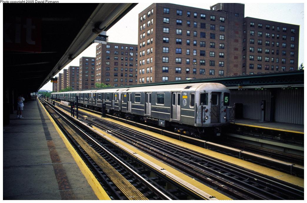 (223k, 1044x691)<br><b>Country:</b> United States<br><b>City:</b> New York<br><b>System:</b> New York City Transit<br><b>Line:</b> IRT Brooklyn Line<br><b>Location:</b> Junius Street <br><b>Car:</b> R-62A (Bombardier, 1984-1987)  1750 <br><b>Photo by:</b> David Pirmann<br><b>Date:</b> 7/21/1999<br><b>Notes:</b> Light move from yard<br><b>Viewed (this week/total):</b> 2 / 5656