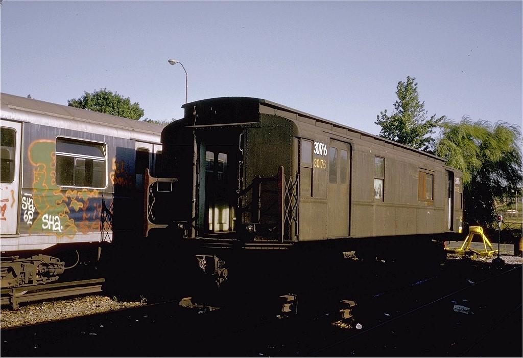 (186k, 1024x700)<br><b>Country:</b> United States<br><b>City:</b> New York<br><b>System:</b> New York City Transit<br><b>Location:</b> Jamaica Yard/Shops<br><b>Car:</b> R-8A Revenue Car (St. Louis, 1939) 30176 (ex-66)<br><b>Photo by:</b> Steve Zabel<br><b>Collection of:</b> Joe Testagrose<br><b>Date:</b> 4/1973<br><b>Viewed (this week/total):</b> 11 / 9092