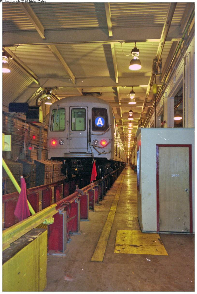 (413k, 700x1045)<br><b>Country:</b> United States<br><b>City:</b> New York<br><b>System:</b> New York City Transit<br><b>Location:</b> Pitkin Yard/Shops<br><b>Car:</b> R-44 (St. Louis, 1971-73)  <br><b>Photo by:</b> Tristan Zieley<br><b>Date:</b> 10/2000<br><b>Viewed (this week/total):</b> 6 / 6132