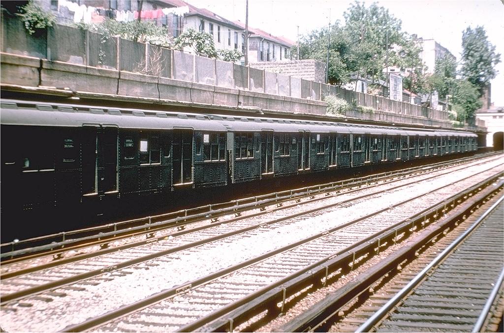 (286k, 1024x677)<br><b>Country:</b> United States<br><b>City:</b> New York<br><b>System:</b> New York City Transit<br><b>Line:</b> BMT Sea Beach Line<br><b>Location:</b> Bay Parkway (22nd Avenue) <br><b>Route:</b> N<br><b>Car:</b> BMT A/B-Type Standard 2353 <br><b>Photo by:</b> Doug Grotjahn<br><b>Collection of:</b> Joe Testagrose<br><b>Date:</b> 5/29/1964<br><b>Viewed (this week/total):</b> 1 / 3282