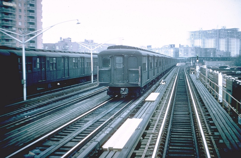 (204k, 1024x671)<br><b>Country:</b> United States<br><b>City:</b> New York<br><b>System:</b> New York City Transit<br><b>Line:</b> BMT Brighton Line<br><b>Location:</b> Brighton Beach <br><b>Car:</b> BMT A/B-Type Standard 2363 <br><b>Photo by:</b> Doug Grotjahn<br><b>Collection of:</b> Joe Testagrose<br><b>Date:</b> 11/28/1964<br><b>Viewed (this week/total):</b> 0 / 4386