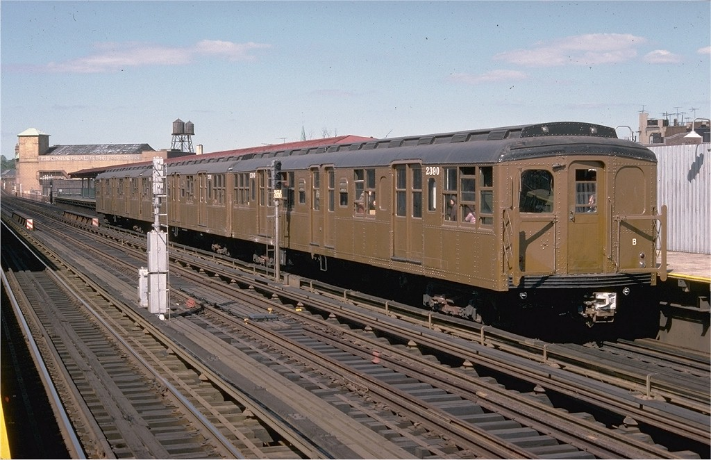 (204k, 1024x662)<br><b>Country:</b> United States<br><b>City:</b> New York<br><b>System:</b> New York City Transit<br><b>Line:</b> BMT West End Line<br><b>Location:</b> 50th Street <br><b>Route:</b> Fan Trip<br><b>Car:</b> BMT A/B-Type Standard 2390 <br><b>Collection of:</b> Joe Testagrose<br><b>Date:</b> 9/11/1977<br><b>Viewed (this week/total):</b> 5 / 2838