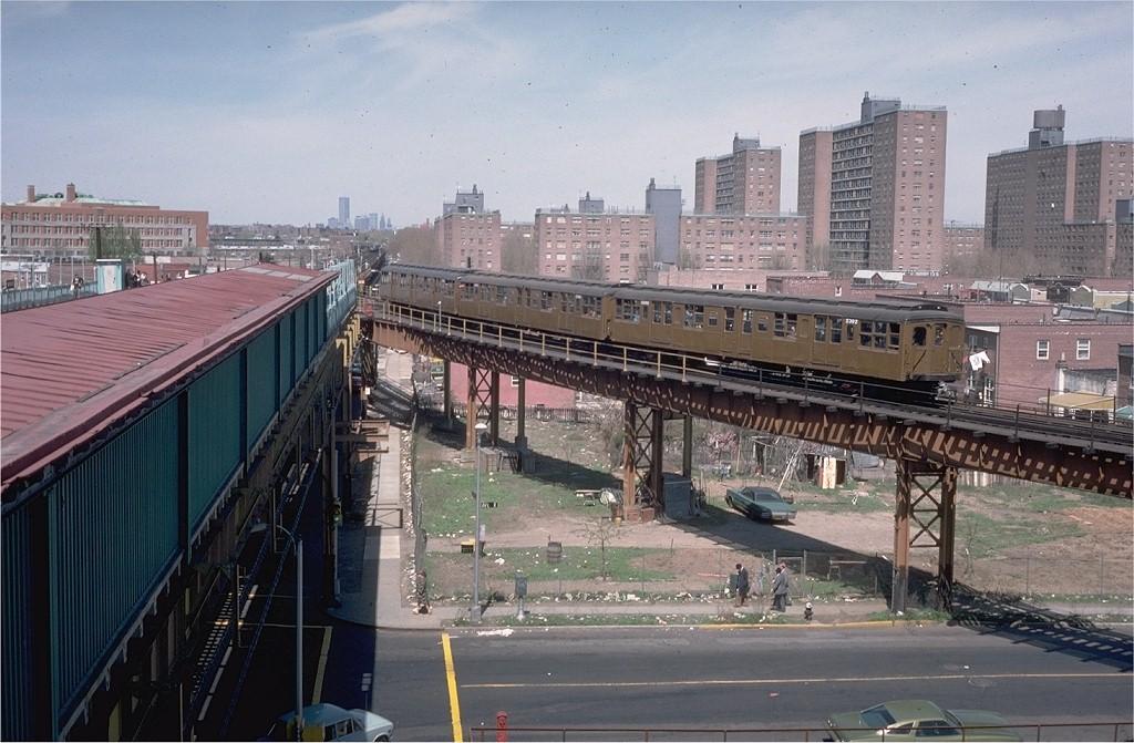 (207k, 1024x671)<br><b>Country:</b> United States<br><b>City:</b> New York<br><b>System:</b> New York City Transit<br><b>Line:</b> BMT West End Line<br><b>Location:</b> Bay 50th Street <br><b>Route:</b> Fan Trip<br><b>Car:</b> BMT A/B-Type Standard 2392 <br><b>Photo by:</b> Joe Testagrose<br><b>Date:</b> 4/16/1977<br><b>Viewed (this week/total):</b> 2 / 4875