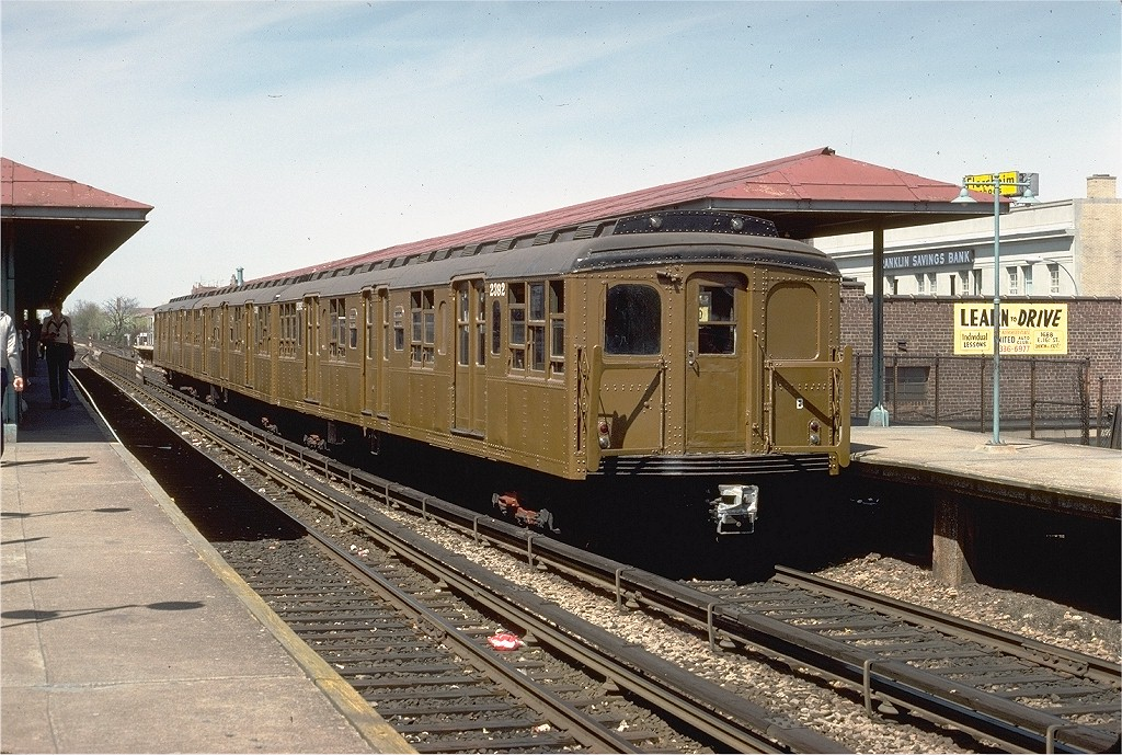 (250k, 1024x689)<br><b>Country:</b> United States<br><b>City:</b> New York<br><b>System:</b> New York City Transit<br><b>Line:</b> BMT Brighton Line<br><b>Location:</b> Kings Highway <br><b>Route:</b> Fan Trip<br><b>Car:</b> BMT A/B-Type Standard 2392 <br><b>Photo by:</b> Joe Testagrose<br><b>Date:</b> 4/16/1977<br><b>Viewed (this week/total):</b> 0 / 2936