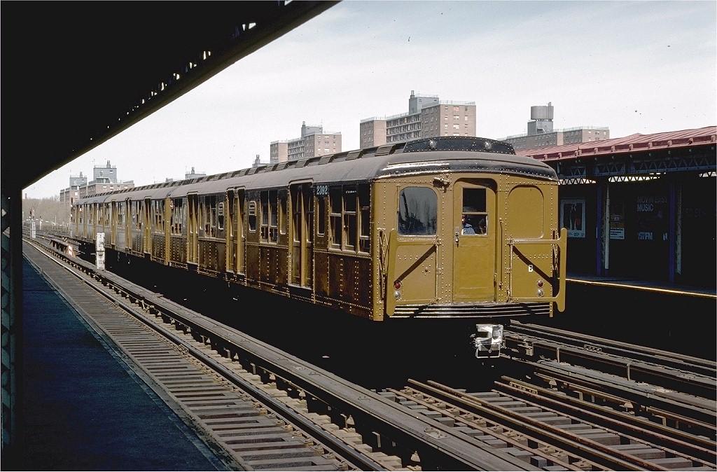 (218k, 1024x674)<br><b>Country:</b> United States<br><b>City:</b> New York<br><b>System:</b> New York City Transit<br><b>Line:</b> BMT West End Line<br><b>Location:</b> Bay 50th Street <br><b>Route:</b> Fan Trip<br><b>Car:</b> BMT A/B-Type Standard 2392 <br><b>Photo by:</b> Joe Testagrose<br><b>Date:</b> 4/16/1977<br><b>Viewed (this week/total):</b> 1 / 2975