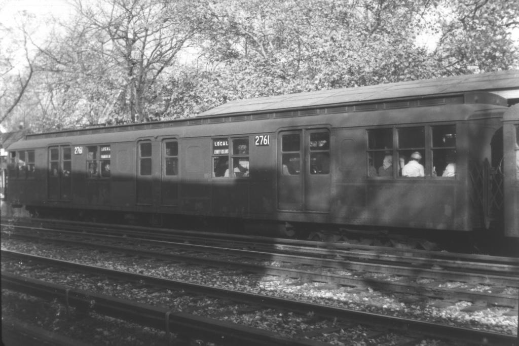 (228k, 1024x683)<br><b>Country:</b> United States<br><b>City:</b> New York<br><b>System:</b> New York City Transit<br><b>Line:</b> BMT Brighton Line<br><b>Location:</b> Avenue H <br><b>Car:</b> BMT A/B-Type Standard 2761 <br><b>Collection of:</b> David Pirmann<br><b>Viewed (this week/total):</b> 2 / 3064