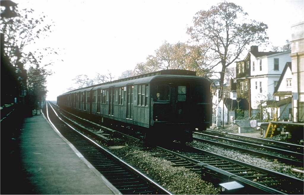(194k, 1024x657)<br><b>Country:</b> United States<br><b>City:</b> New York<br><b>System:</b> New York City Transit<br><b>Line:</b> BMT Brighton Line<br><b>Location:</b> Avenue H <br><b>Car:</b> BMT A/B-Type Standard 2883 <br><b>Collection of:</b> Joe Testagrose<br><b>Date:</b> 11/3/1964<br><b>Viewed (this week/total):</b> 2 / 3500