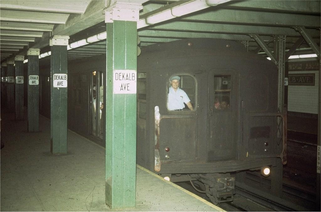 (166k, 1024x676)<br><b>Country:</b> United States<br><b>City:</b> New York<br><b>System:</b> New York City Transit<br><b>Line:</b> BMT Canarsie Line<br><b>Location:</b> DeKalb Avenue <br><b>Car:</b> BMT A/B-Type Standard  <br><b>Collection of:</b> Joe Testagrose<br><b>Viewed (this week/total):</b> 1 / 5188