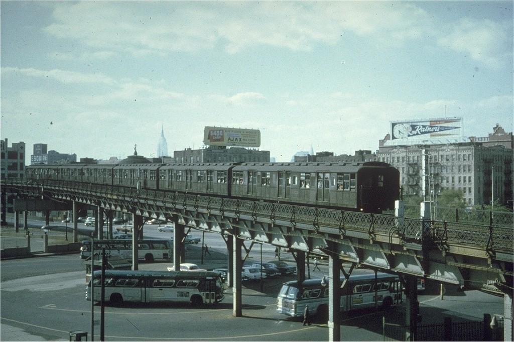 (219k, 1024x681)<br><b>Country:</b> United States<br><b>City:</b> New York<br><b>System:</b> New York City Transit<br><b>Line:</b> BMT Nassau Street/Jamaica Line<br><b>Location:</b> Marcy Avenue <br><b>Car:</b> BMT A/B-Type Standard  <br><b>Collection of:</b> Joe Testagrose<br><b>Date:</b> 6/1963<br><b>Viewed (this week/total):</b> 2 / 6383