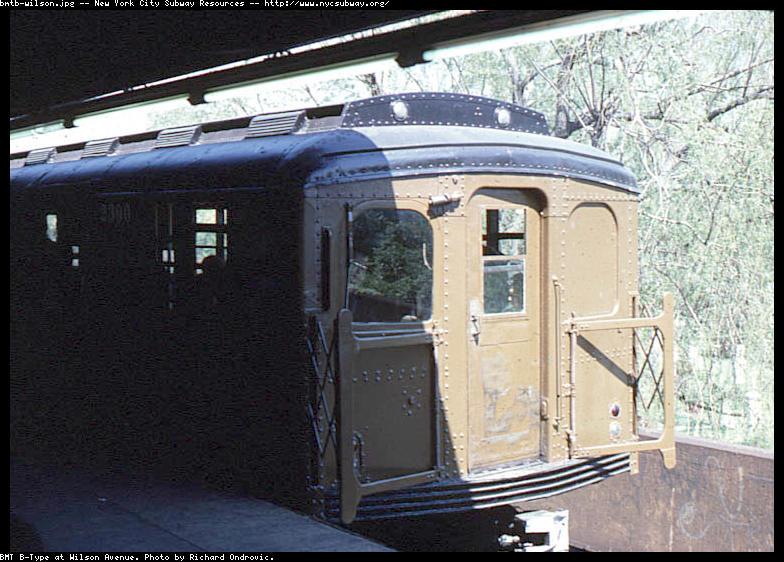 (98k, 784x562)<br><b>Country:</b> United States<br><b>City:</b> New York<br><b>System:</b> New York City Transit<br><b>Line:</b> BMT Canarsie Line<br><b>Location:</b> Wilson Avenue <br><b>Route:</b> L<br><b>Car:</b> BMT A/B-Type Standard 2390 <br><b>Photo by:</b> Richard Ondrovic<br><b>Viewed (this week/total):</b> 0 / 3367