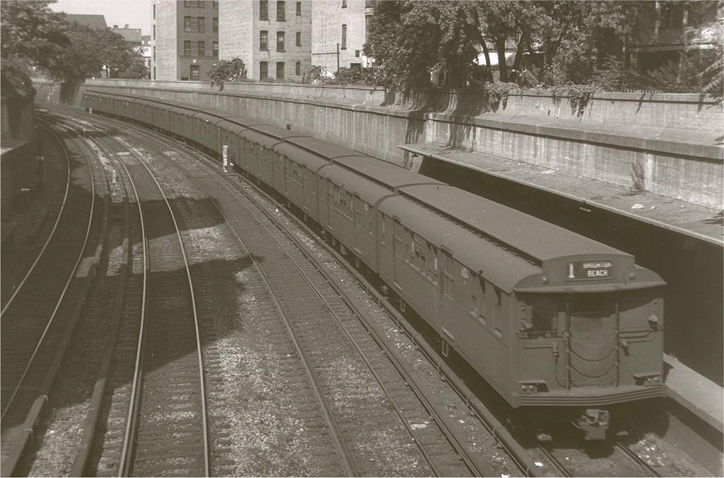 (199k, 1024x676)<br><b>Country:</b> United States<br><b>City:</b> New York<br><b>System:</b> New York City Transit<br><b>Line:</b> BMT Brighton Line<br><b>Location:</b> Parkside Avenue <br><b>Route:</b> 1<br><b>Car:</b> BMT D-Type Triplex 6004 <br><b>Photo by:</b> Harry Pinsker<br><b>Date:</b> 9/8/1960<br><b>Viewed (this week/total):</b> 0 / 5503