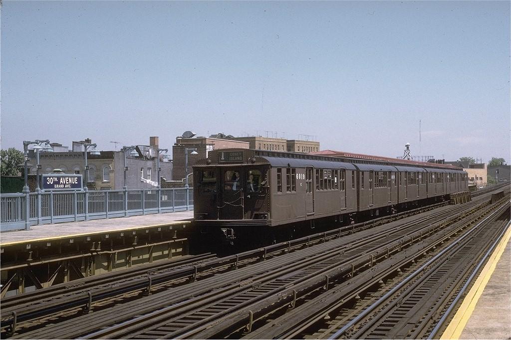 (230k, 1024x682)<br><b>Country:</b> United States<br><b>City:</b> New York<br><b>System:</b> New York City Transit<br><b>Line:</b> BMT Astoria Line<br><b>Location:</b> 30th/Grand Aves. <br><b>Route:</b> Fan Trip<br><b>Car:</b> BMT D-Type Triplex 6019 <br><b>Photo by:</b> Joe Testagrose<br><b>Date:</b> 5/27/1972<br><b>Viewed (this week/total):</b> 1 / 3325