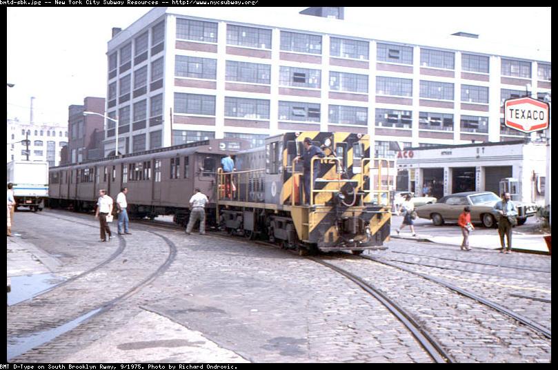 (103k, 809x536)<br><b>Country:</b> United States<br><b>City:</b> New York<br><b>System:</b> New York City Transit<br><b>Line:</b> South Brooklyn Railway<br><b>Location:</b> 2nd Avenue (SBK)<br><b>Car:</b> R-47 (SBK) Locomotive  N2 <br><b>Photo by:</b> Richard Ondrovic<br><b>Date:</b> 9/1975<br><b>Viewed (this week/total):</b> 4 / 3816
