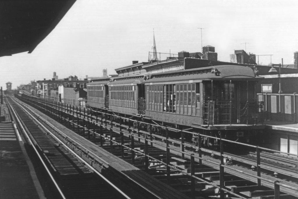 (208k, 1024x683)<br><b>Country:</b> United States<br><b>City:</b> New York<br><b>System:</b> New York City Transit<br><b>Line:</b> BMT Myrtle Avenue Line<br><b>Location:</b> Central Avenue <br><b>Route:</b> MJ<br><b>Car:</b> BMT Elevated Gate Car 1336 <br><b>Collection of:</b> David Pirmann<br><b>Viewed (this week/total):</b> 0 / 3159