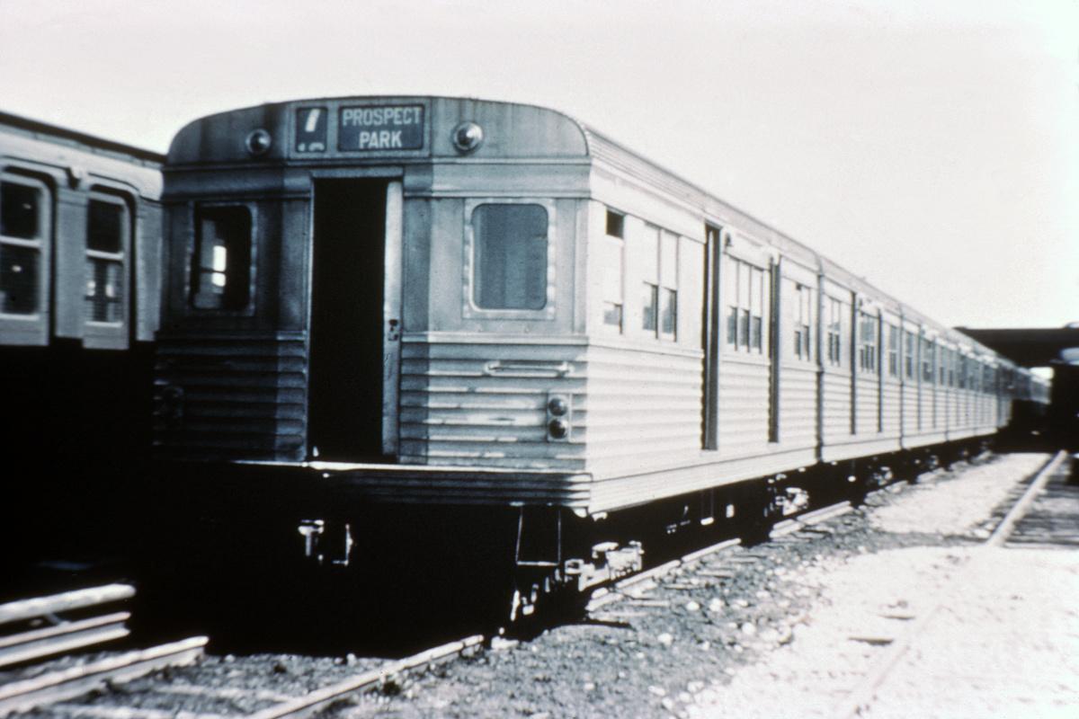 (351k, 1044x704)<br><b>Country:</b> United States<br><b>City:</b> New York<br><b>System:</b> New York City Transit<br><b>Location:</b> Coney Island Yard<br><b>Car:</b> BMT Zephyr  <br><b>Collection of:</b> David Pirmann<br><b>Viewed (this week/total):</b> 0 / 4166