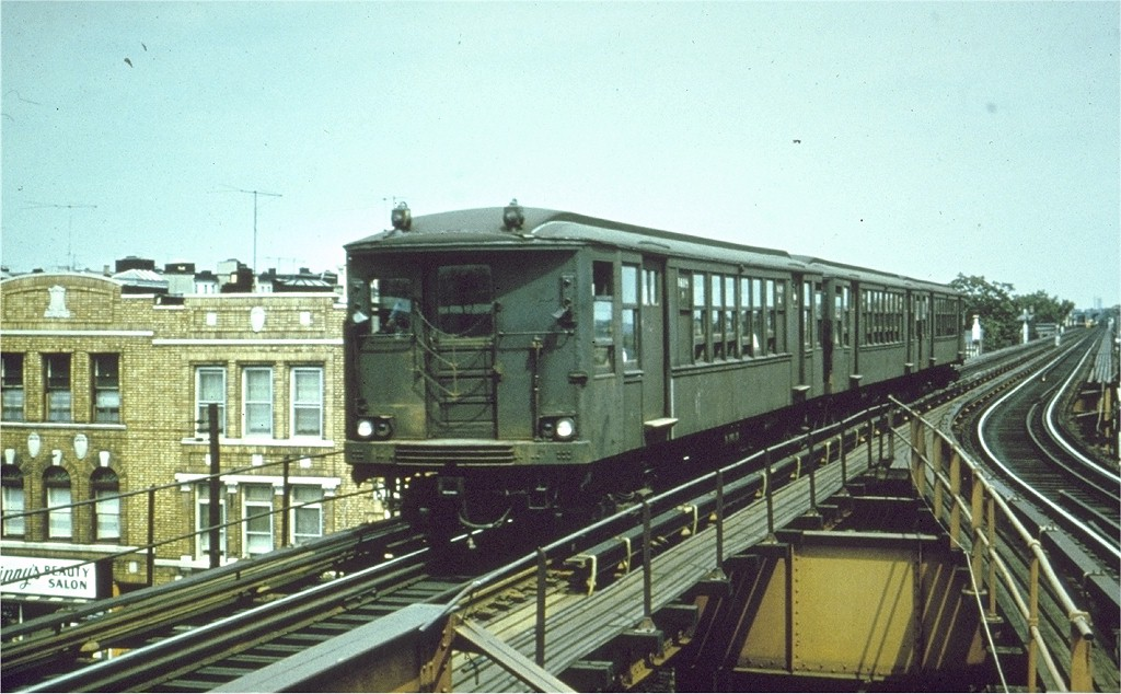 (197k, 1024x634)<br><b>Country:</b> United States<br><b>City:</b> New York<br><b>System:</b> New York City Transit<br><b>Line:</b> BMT Myrtle Avenue Line<br><b>Location:</b> Forest Avenue <br><b>Car:</b> BMT Q 1619 <br><b>Photo by:</b> Joe Testagrose<br><b>Date:</b> 1965<br><b>Viewed (this week/total):</b> 5 / 4209