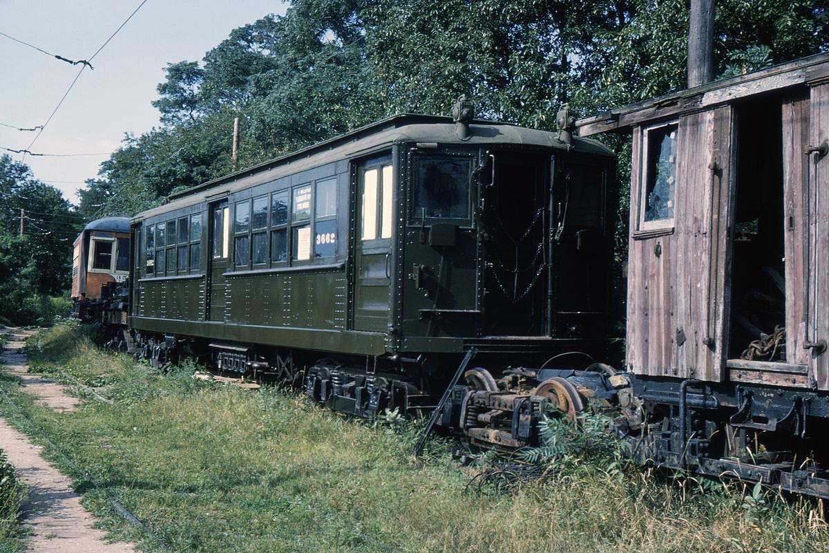 (563k, 1024x683)<br><b>Country:</b> United States<br><b>City:</b> East Haven/Branford, Ct.<br><b>System:</b> Shore Line Trolley Museum <br><b>Car:</b> Hi-V 3662 <br><b>Photo by:</b> Ed Davis, Sr.<br><b>Collection of:</b> David Pirmann<br><b>Viewed (this week/total):</b> 3 / 3790
