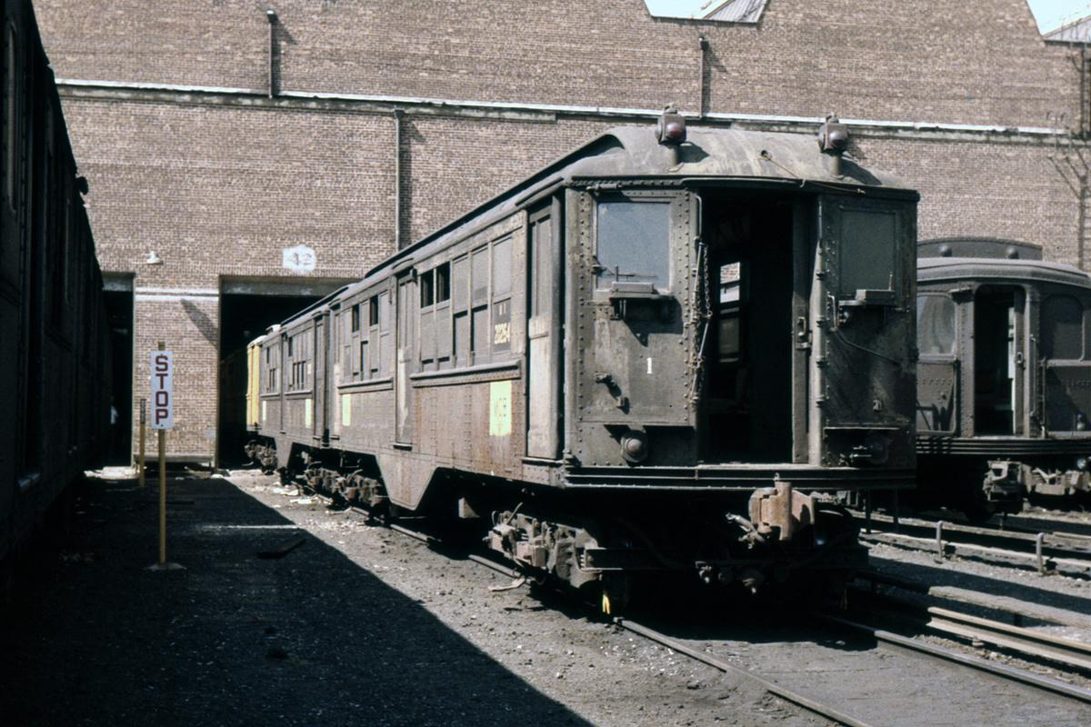 (486k, 1024x683)<br><b>Country:</b> United States<br><b>City:</b> New York<br><b>System:</b> New York City Transit<br><b>Location:</b> Coney Island Yard<br><b>Car:</b> Low-V 20264 (ex-4590)<br><b>Collection of:</b> David Pirmann<br><b>Date:</b> 8/10/1963<br><b>Viewed (this week/total):</b> 0 / 5895