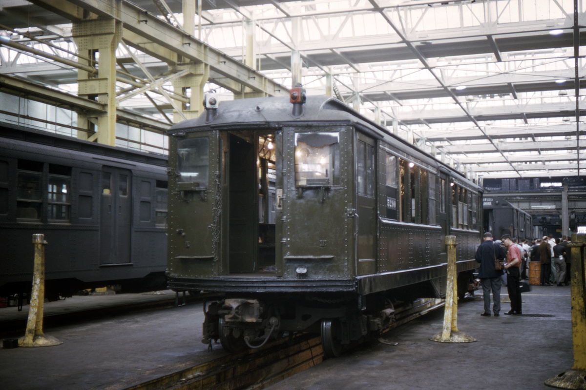 (387k, 1044x705)<br><b>Country:</b> United States<br><b>City:</b> New York<br><b>System:</b> New York City Transit<br><b>Location:</b> 207th Street Shop<br><b>Car:</b> Low-V (Museum Train) 5290 <br><b>Collection of:</b> David Pirmann<br><b>Date:</b> 7/3/1965<br><b>Viewed (this week/total):</b> 1 / 3306