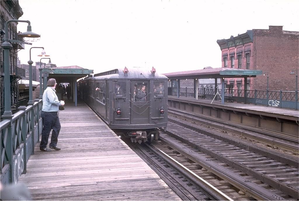(209k, 1024x687)<br><b>Country:</b> United States<br><b>City:</b> New York<br><b>System:</b> New York City Transit<br><b>Line:</b> 3rd Avenue El<br><b>Location:</b> 166th Street <br><b>Route:</b> Fan Trip<br><b>Car:</b> Low-V (Museum Train) 5290 <br><b>Photo by:</b> Steve Zabel<br><b>Collection of:</b> Joe Testagrose<br><b>Date:</b> 4/29/1973<br><b>Viewed (this week/total):</b> 1 / 4313