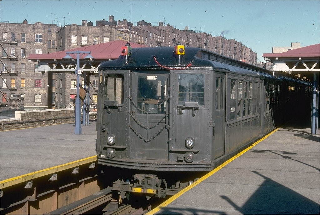 (237k, 1024x688)<br><b>Country:</b> United States<br><b>City:</b> New York<br><b>System:</b> New York City Transit<br><b>Line:</b> IRT Woodlawn Line<br><b>Location:</b> Burnside Avenue <br><b>Route:</b> Fan Trip<br><b>Car:</b> Low-V (Museum Train) 5290 <br><b>Collection of:</b> Joe Testagrose<br><b>Date:</b> 12/11/1977<br><b>Viewed (this week/total):</b> 0 / 3480