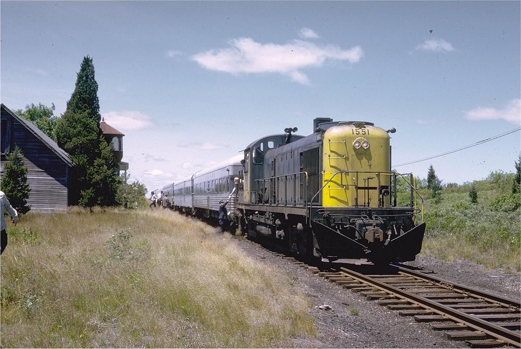 (244k, 1024x687)<br><b>Country:</b> United States<br><b>System:</b> Long Island Rail Road<br><b>Line:</b> LIRR Montauk<br><b>Location:</b> Shinnecock Hills <br><b>Car:</b> LIRR Alco RS-3 (Diesel) 1551 <br><b>Photo by:</b> Steve Zabel<br><b>Collection of:</b> Joe Testagrose<br><b>Date:</b> 6/17/1973<br><b>Viewed (this week/total):</b> 5 / 2213