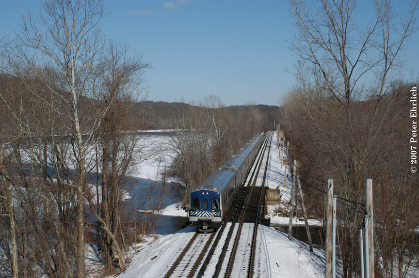 (230k, 864x574)<br><b>Country:</b> United States<br><b>System:</b> Metro-North Railroad (or Amtrak or Predecessor RR)<br><b>Line:</b> Metro North-Harlem Line<br><b>Location:</b> Purdy's <br><b>Car:</b> MNRR M-7a EMU (Bombardier) 4188 <br><b>Photo by:</b> Peter Ehrlich<br><b>Date:</b> 2/28/2007<br><b>Notes:</b> Southbound train approaching Purdys.<br><b>Viewed (this week/total):</b> 0 / 997